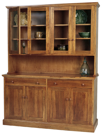 New England Shaker Buffet & Hutch - New England Shaker Buffet & Hutch - Vermont Woods Studios