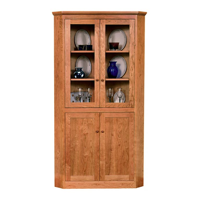 New England Shaker Corner Cabinet Part 42