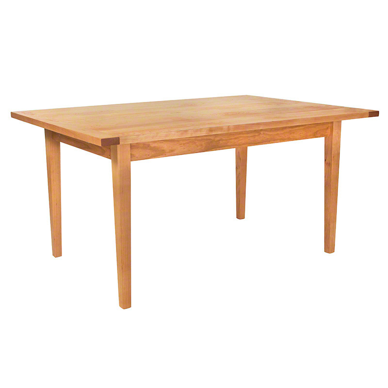 Charming Vermont Shaker Harvest Dining Table
