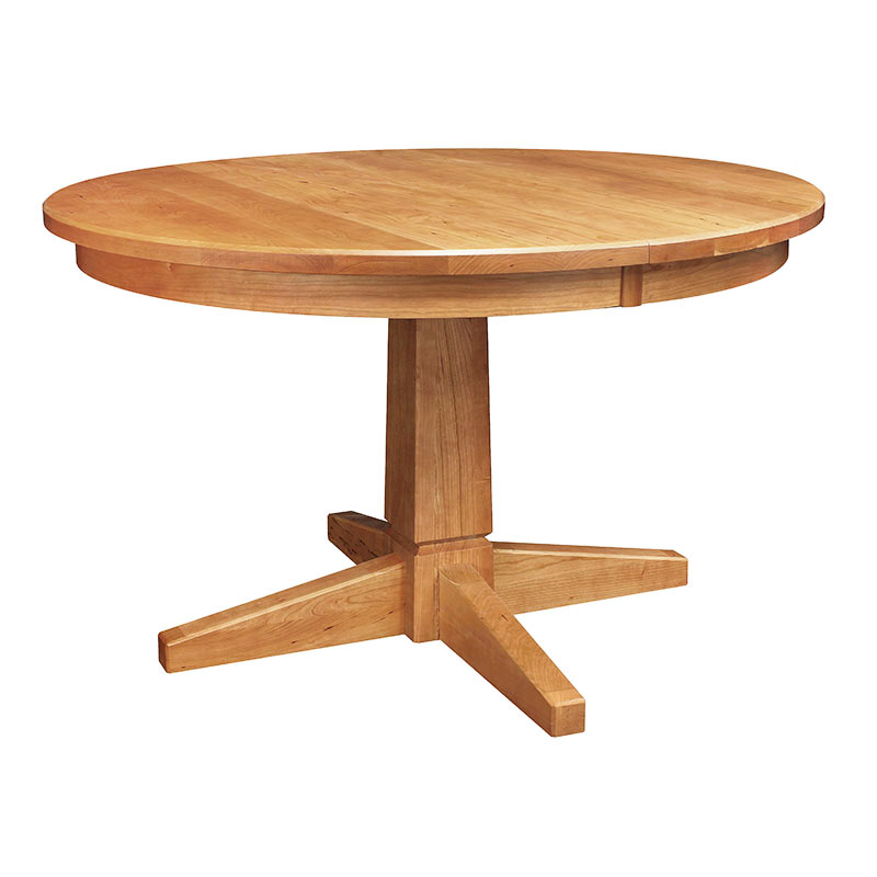 Natural Vermont Single Pedestal Table