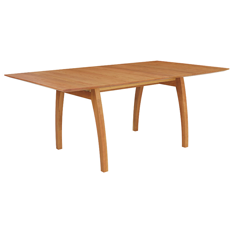 Handmade Vermont Modern Trestle Table Solid Wood High End