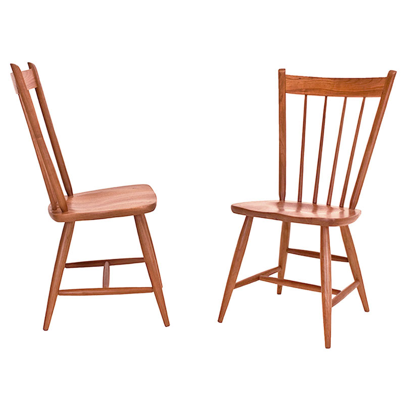 windsor style guest chair vermont woods studios