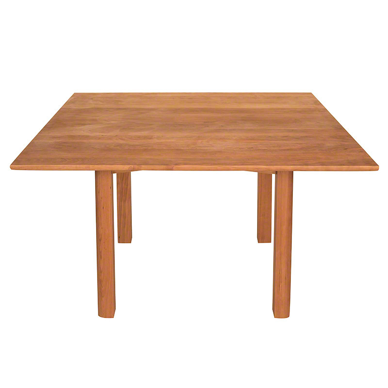 Woodland Custom Square Dining Table Vermont Woods Studios