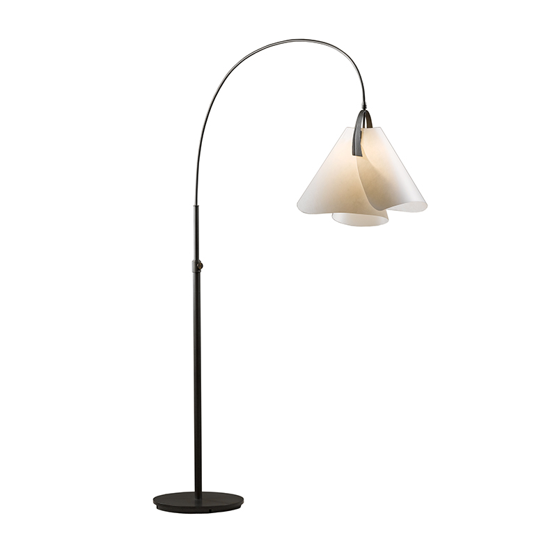 mobius arc floor lamp by hubbardton forge 234505. Black Bedroom Furniture Sets. Home Design Ideas