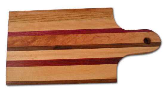 Small Hardwood Cutting Board