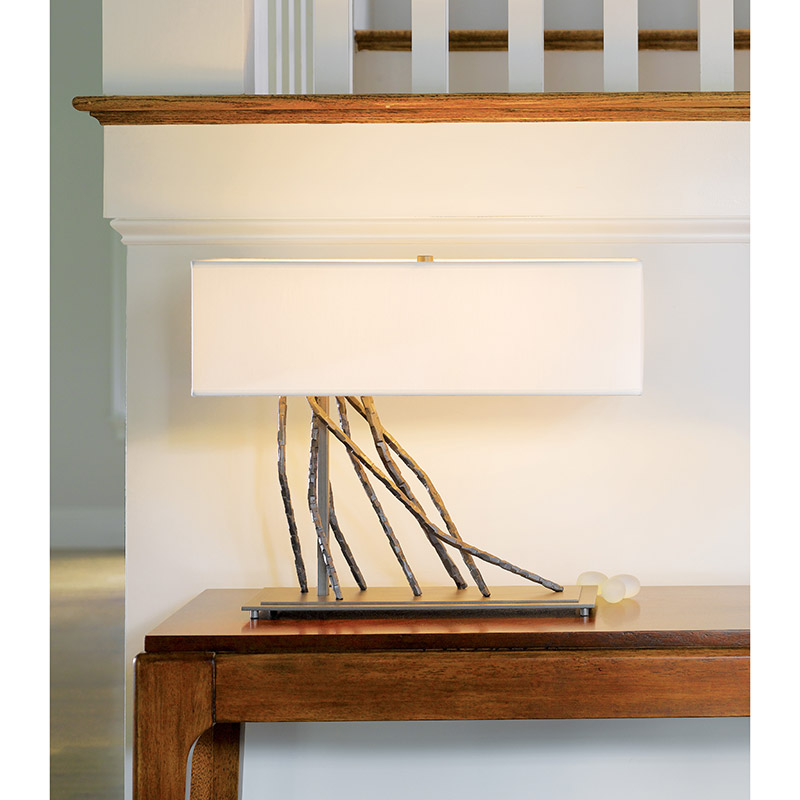 Hubbardton Forge Brindle: Hubbardton Forge Brindle Table Lamp