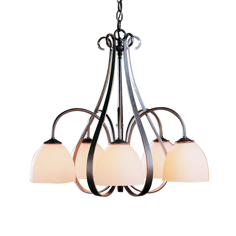 Hubbardton Forge Sweeping Taper: Hubbardton Forge Sweeping Taper Chandelier
