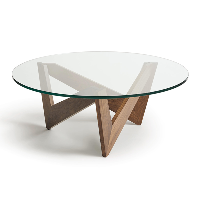 Check Round Coffee Table By Copeland Furniture Vermont Woods Studios