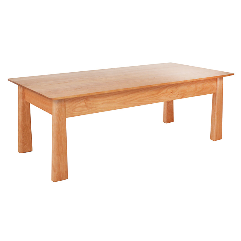 Cherry Moon Coffee Table High End American Made Real Solid