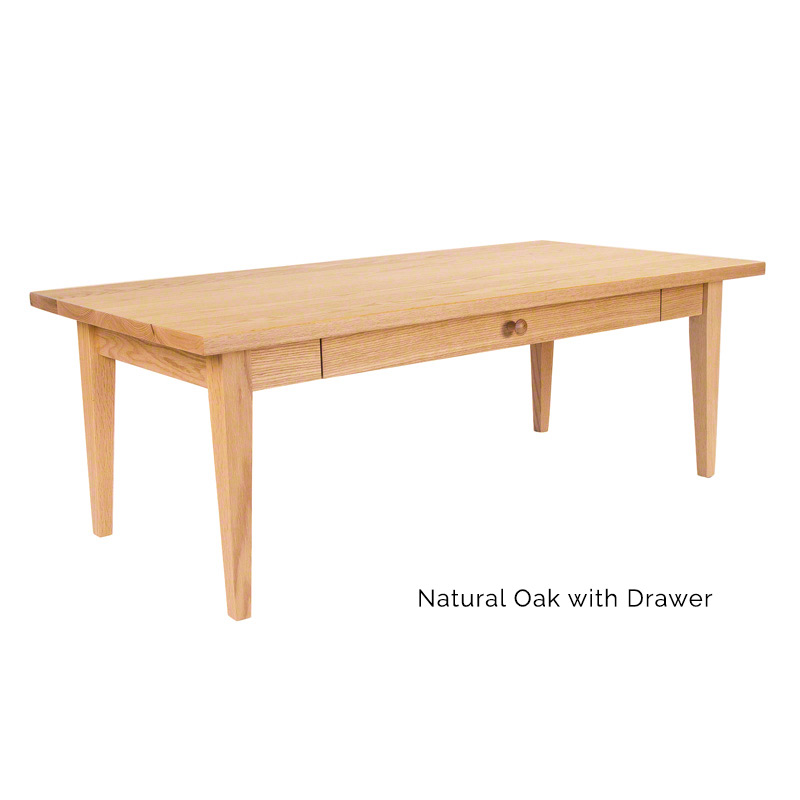 Classic Shaker Coffee Table Vermont Woods Studios