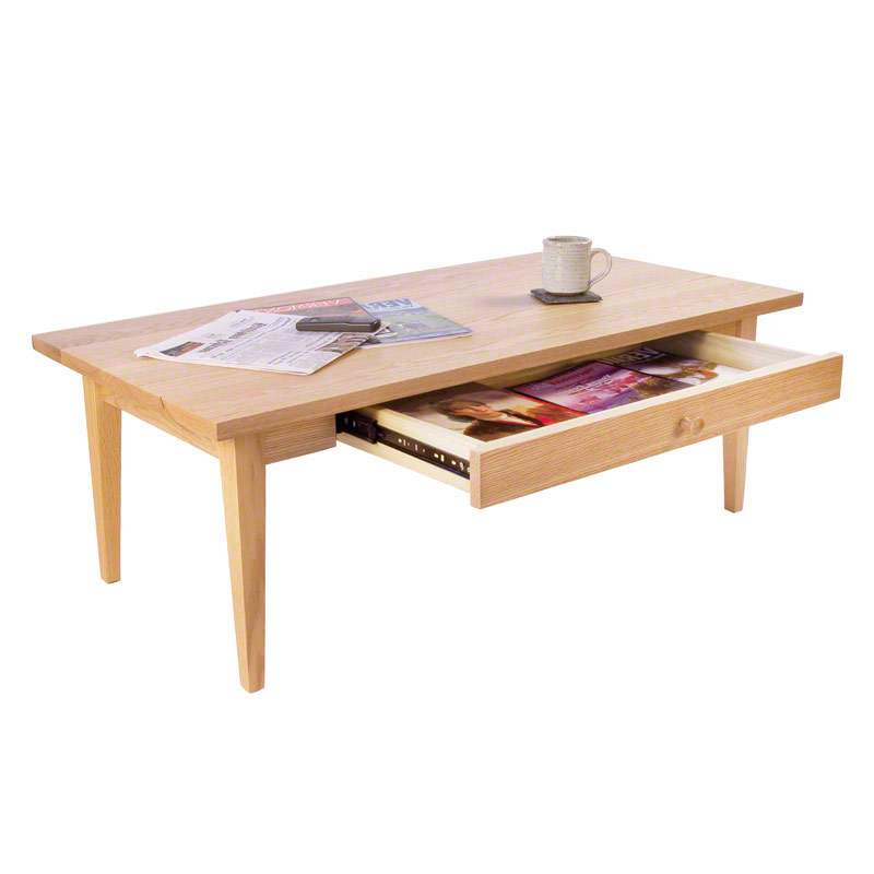 Classic Shaker Coffee Table - Classic Shaker Coffee Table - Vermont Woods Studios