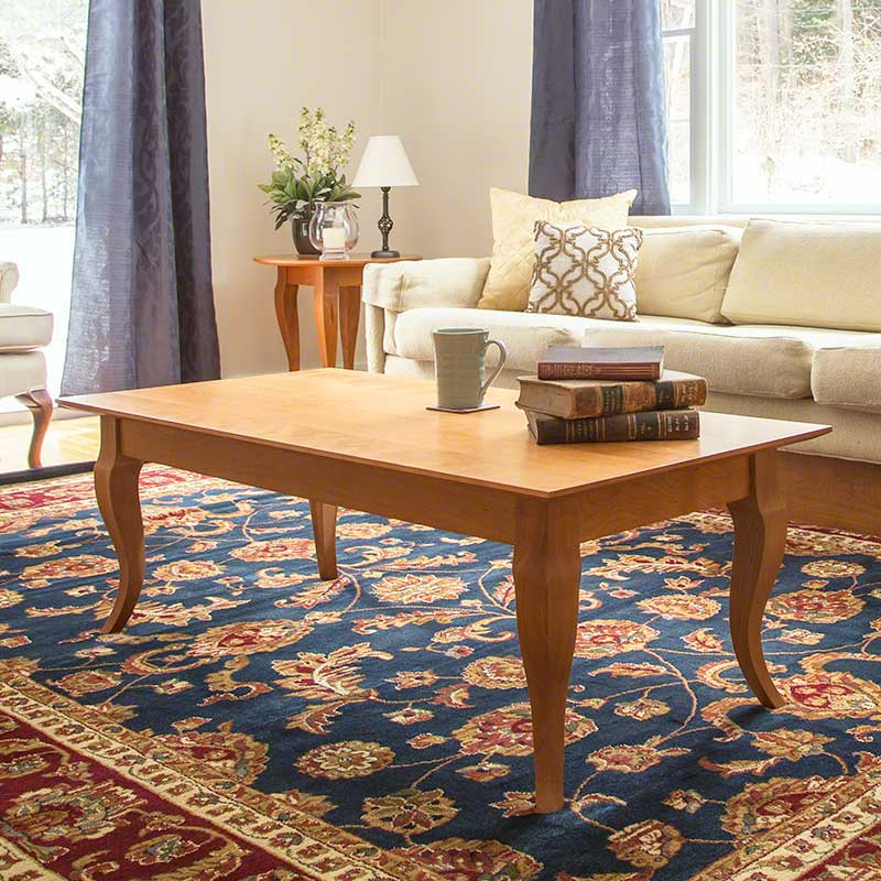 French Provincial Coffee Table Set: French Country Coffee Table