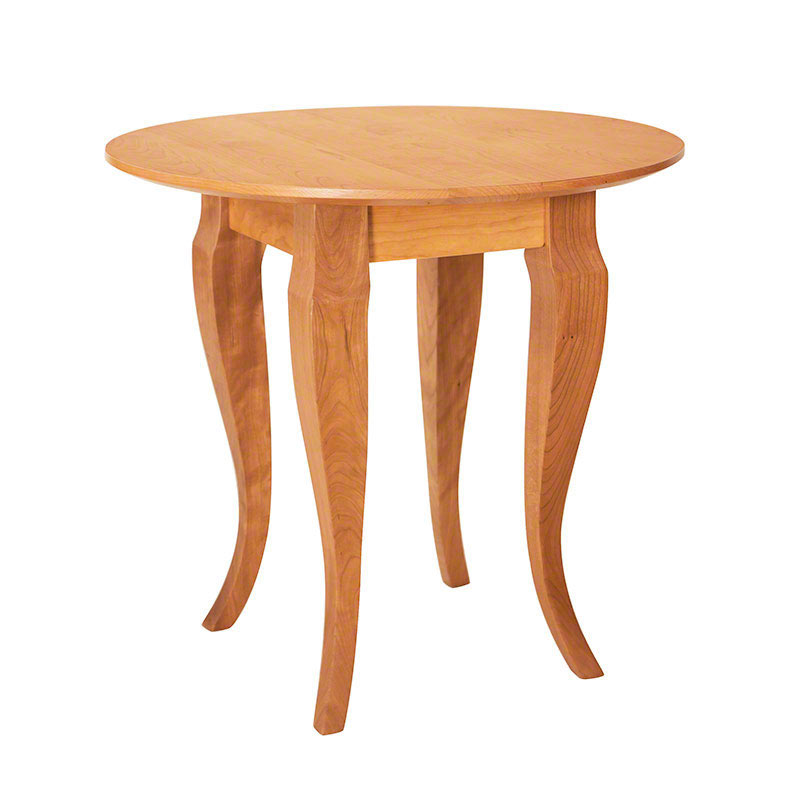 French Country Round End Table. French Country Round End Table   Real Solid Cherry   Walnut   VT