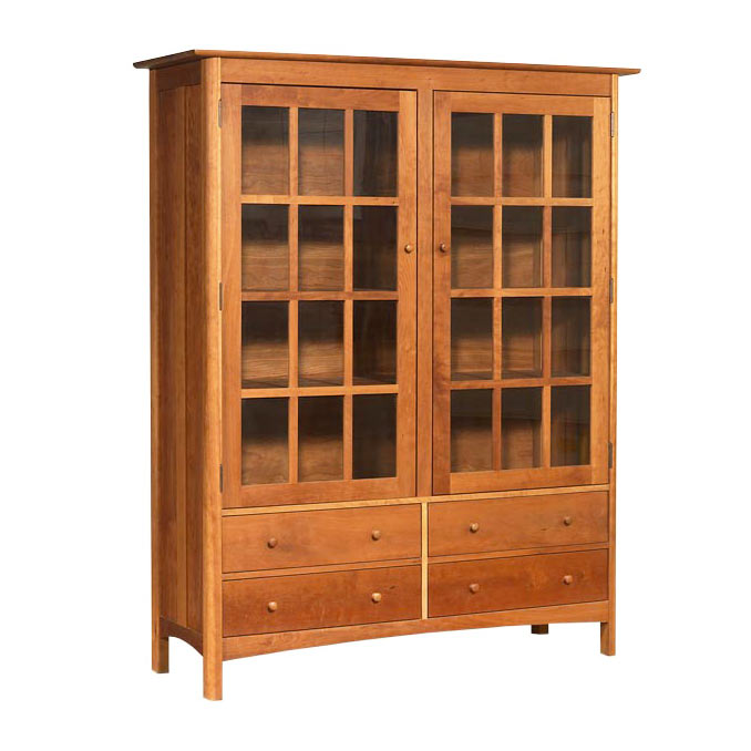 Modern Shaker China Cabinet - Bookcase