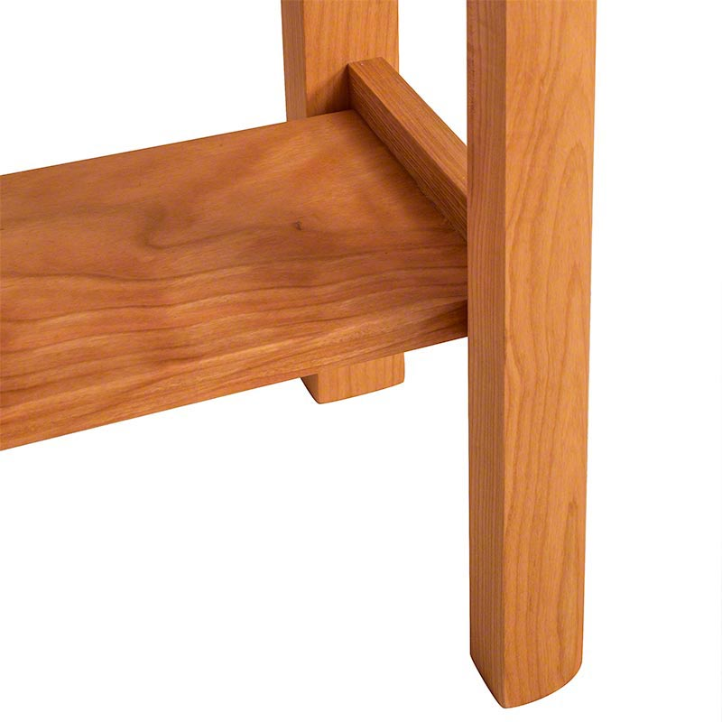 Modern Shaker Lamp Table | Solid Wood End Table | Made in USA