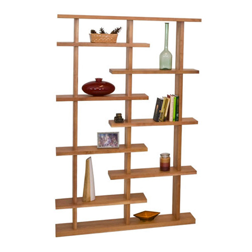 new york contemporary bookcase - Real Wood Bookshelves