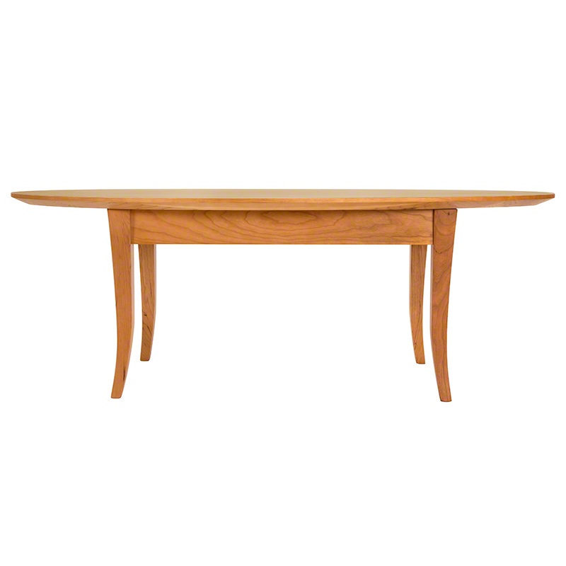 Room Furniture Coffee Tables Classic Shaker Oval Coffee Table