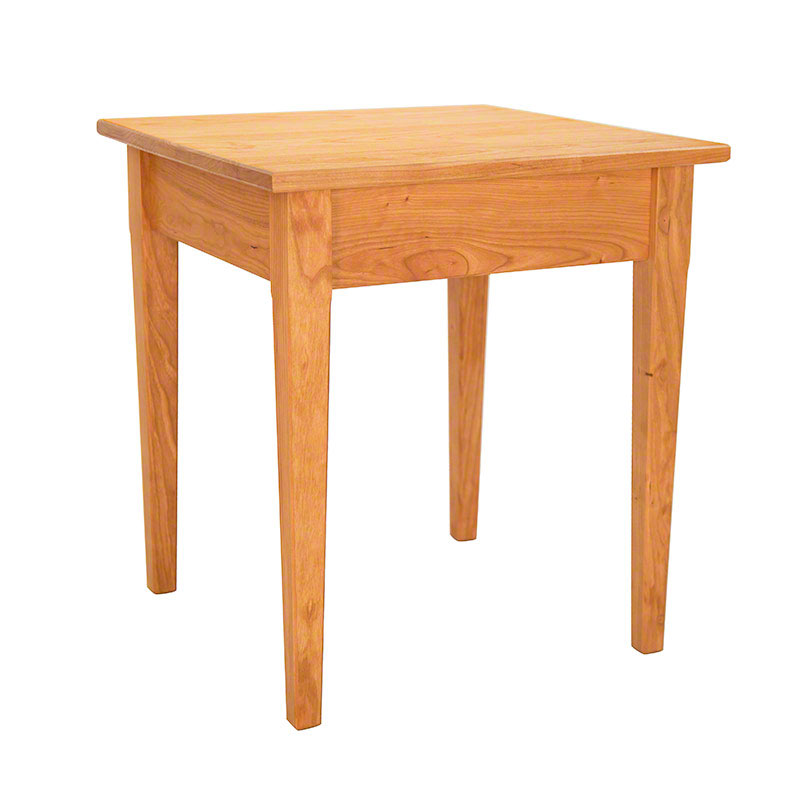 Vermont Shaker End Tables Solid Wood Living Room Tables USA Made