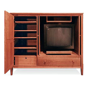 Vermont-Made Shaker Entertainment Center 61""