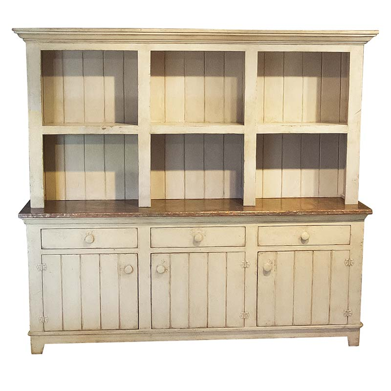 Habitue price MCF Furniture Caramel wood buffet with hutch Oak counter ...