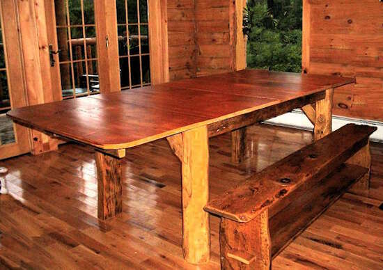Rustic Barnwood Dining Table