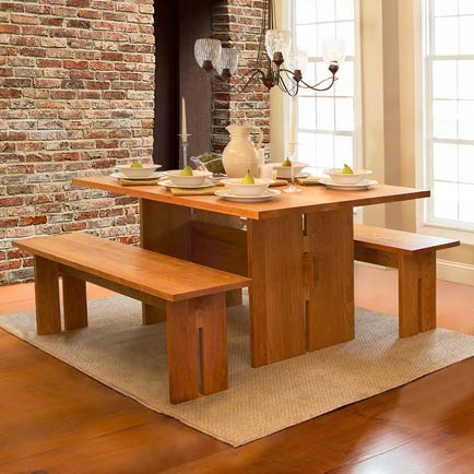 Dining Room by Vermont Furniture Designs