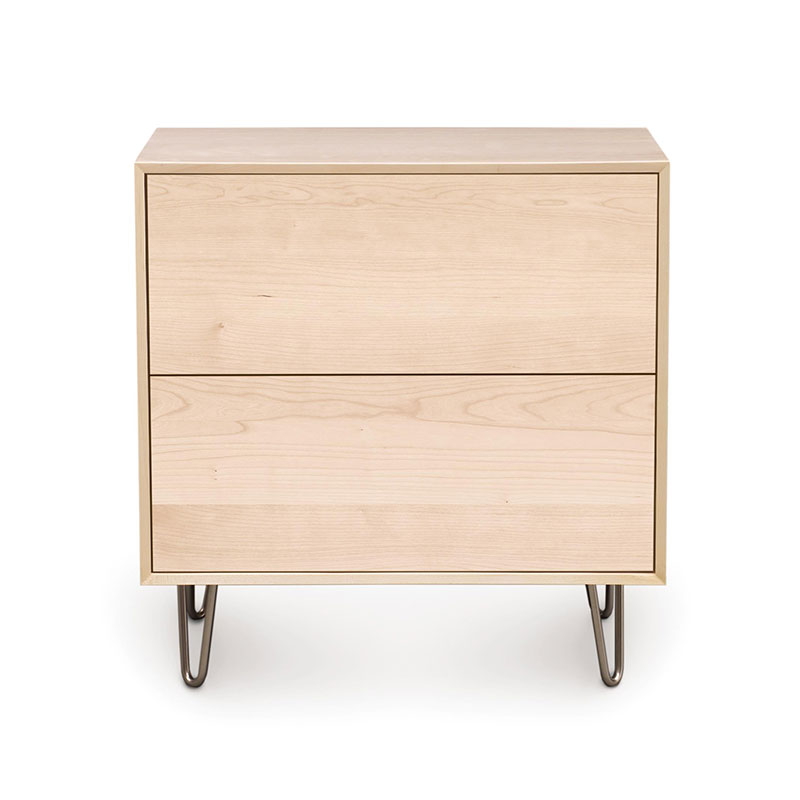 2 Drawer Computer Table In Natural Finish Buy 2 Drawer  Canvas 2-Drawer Nightstand by Copeland Furniture - Vermont ...