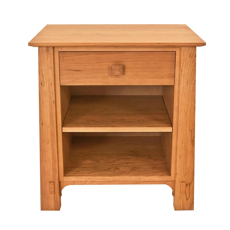 Northup 1 Drawer Enclosed Shelf Nightstand