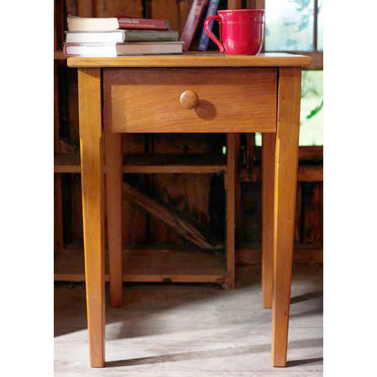 vermont shaker bedside table