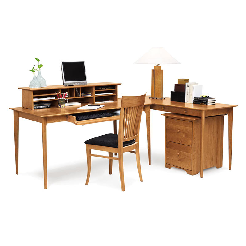 Copeland Sarah Cherry Wood Desk USA Made Shaker Style Office Furniture