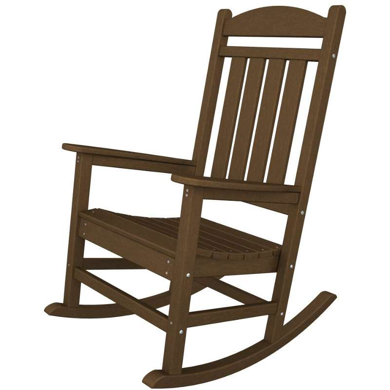 Red Rocking Chair Clipart ~ Recycled plastic outdoor rocking chair polywood
