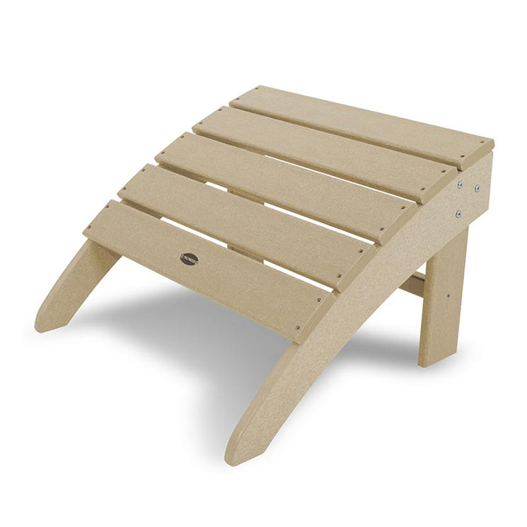 South Beach Adirondack Ottoman Sand