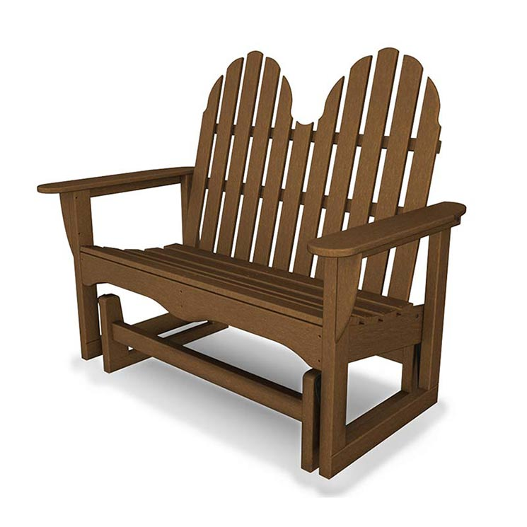 Bench polywood all weather durable porch patio amp garden furniture