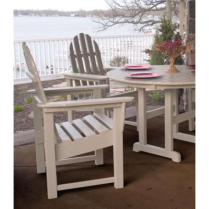 Polywood Adirondack Style Outdoor Casual Chair All