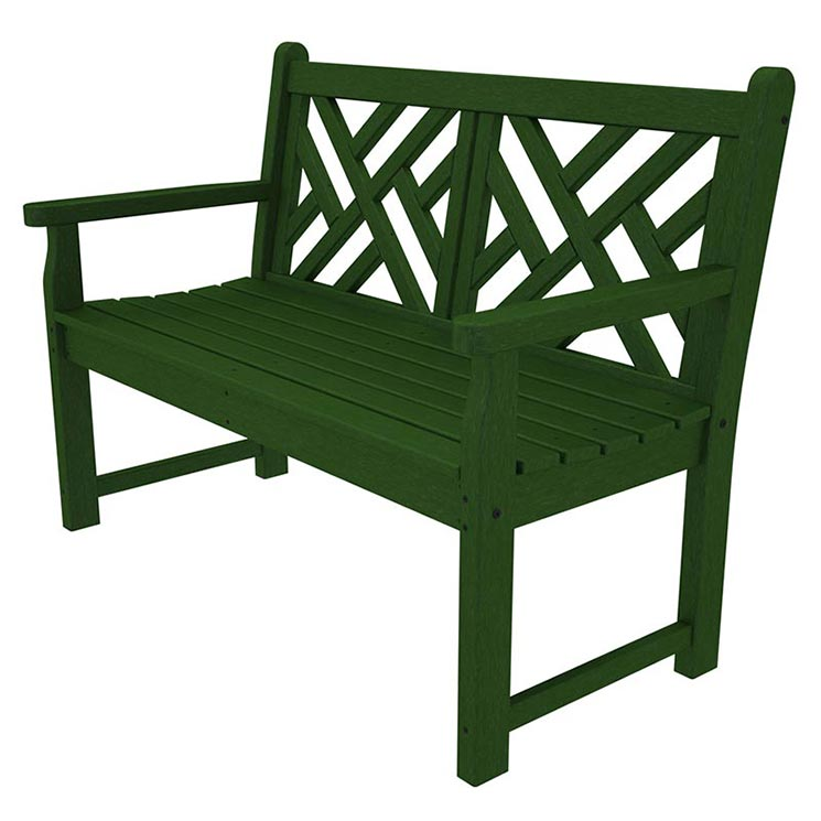 "Chippendale 48"" Outdoor Bench"