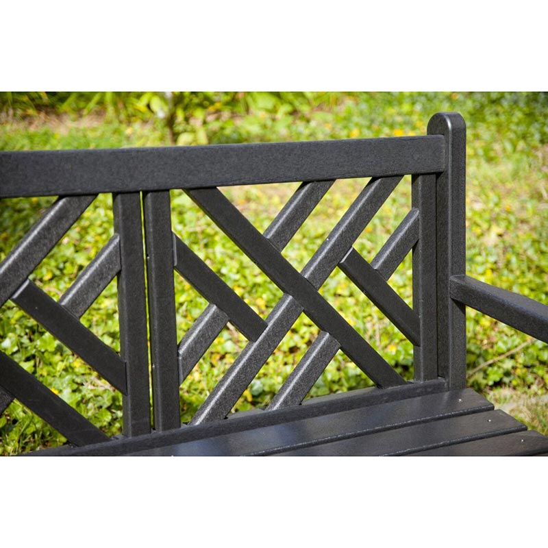 Recycled Plastic Outdoor Glider Bench Polywood