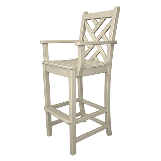 Chippendale Outdoor Bar Arm Chair
