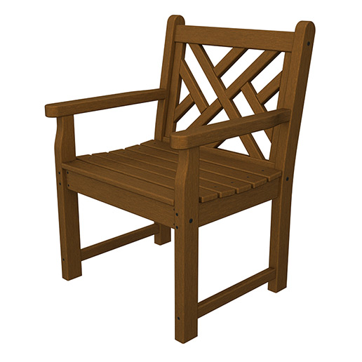 Chippendale Garden Arm Chair