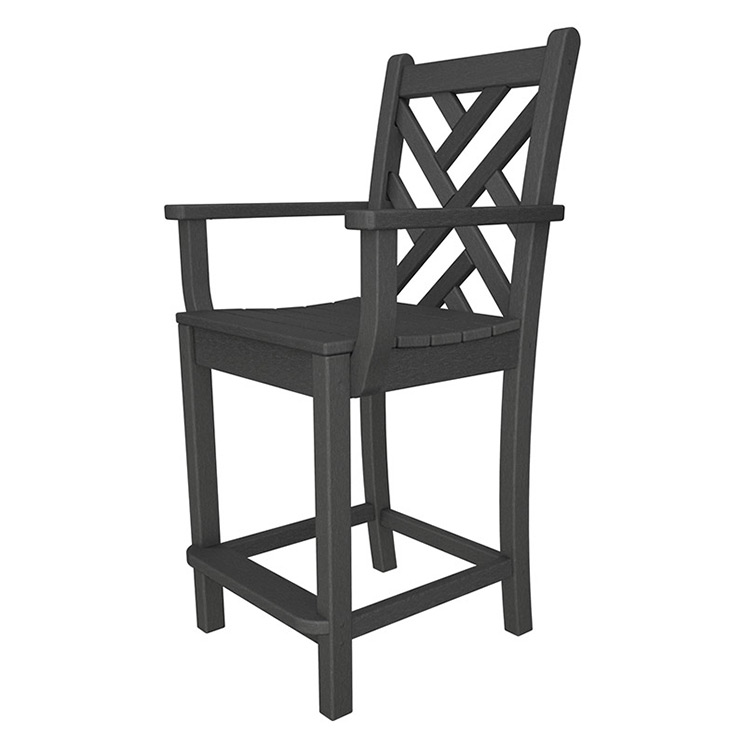 Chippendale Outdoor Counter Arm Chair