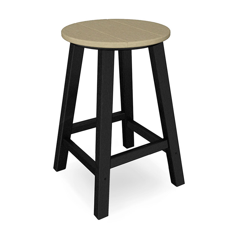 "Contempo 24"" Round Bar Stool"