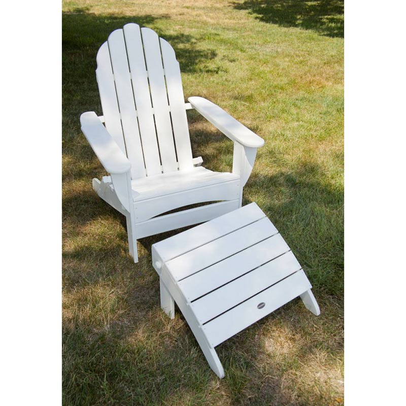 Adirondack Oversized Curved Back Chair