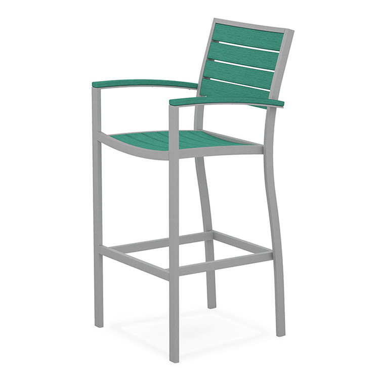 Euro Aluminum Bar Arm Chair