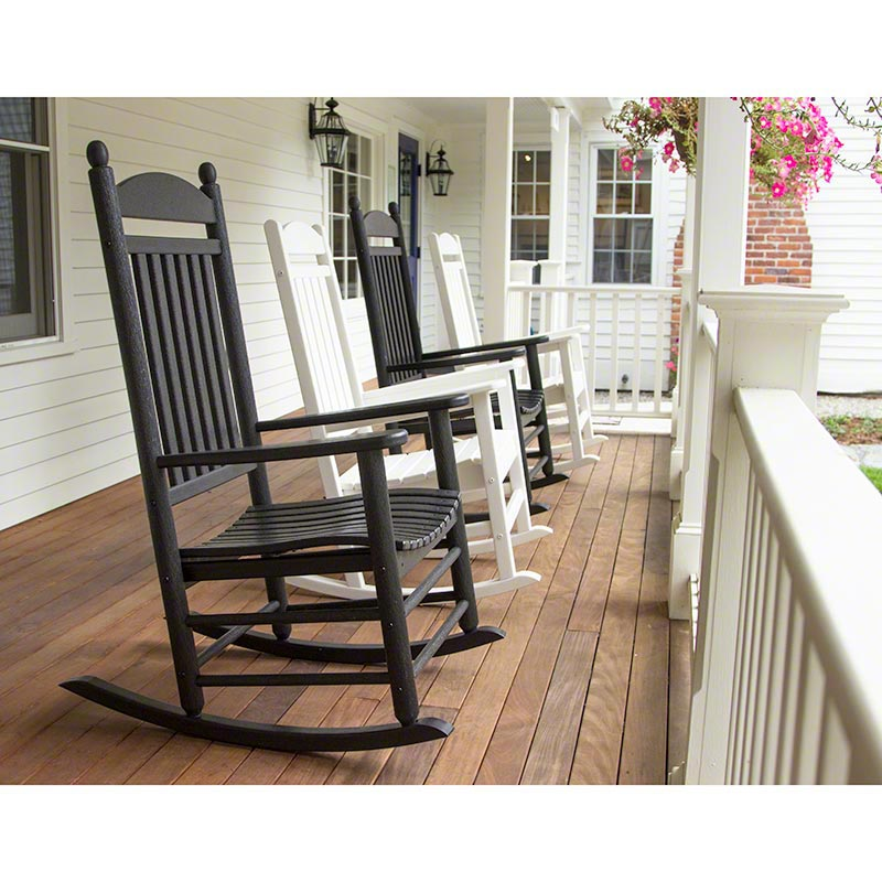 Jefferson Outdoor Rocking Chair  sc 1 st  Vermont Woods Studios & Jefferson Plastic Outdoor Rocking Chair | Polywood | Recycled ...