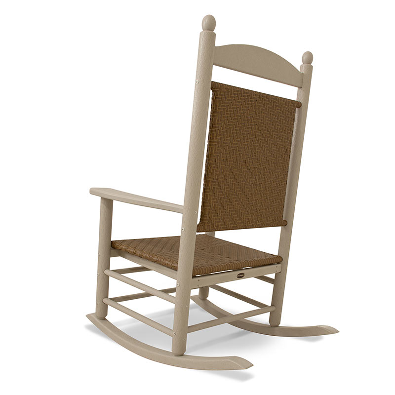 Jefferson Outdoor Woven Rocker  sc 1 st  Vermont Woods Studios : american made rocking chairs - Cheerinfomania.Com