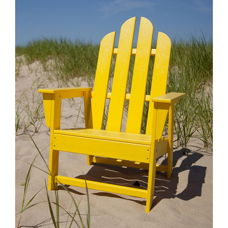 Patio Furniture In Long Island: Polywood Long Island Outdoor Dining Chair
