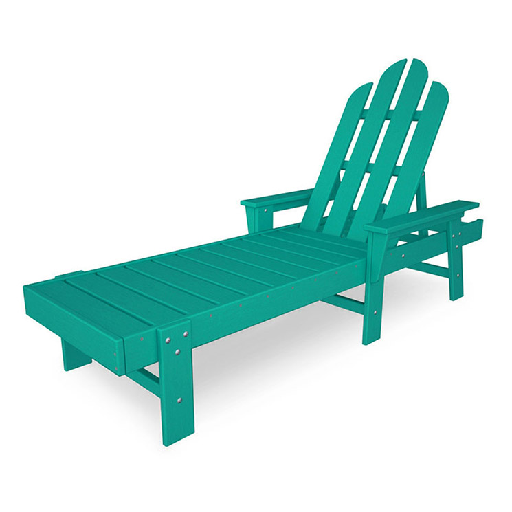 Long island adirondack chaise lounge maintenance free for Chaise adirondak