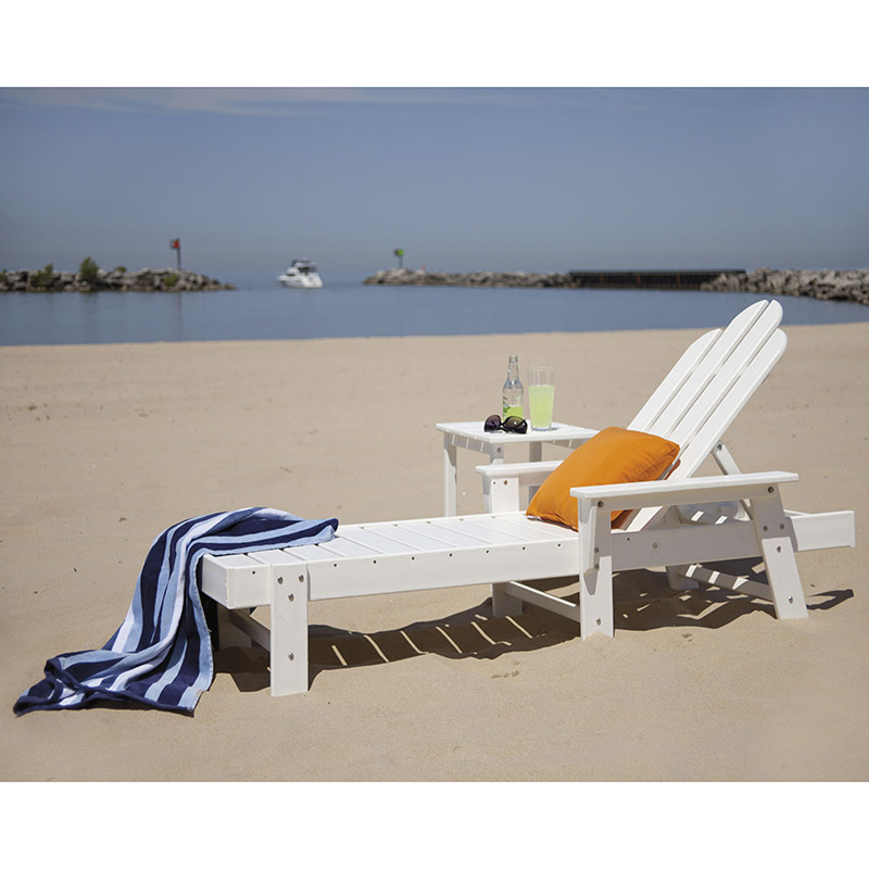 Patio Furniture In Long Island: Long Island Adirondack Chaise Lounge Chair By Polywood