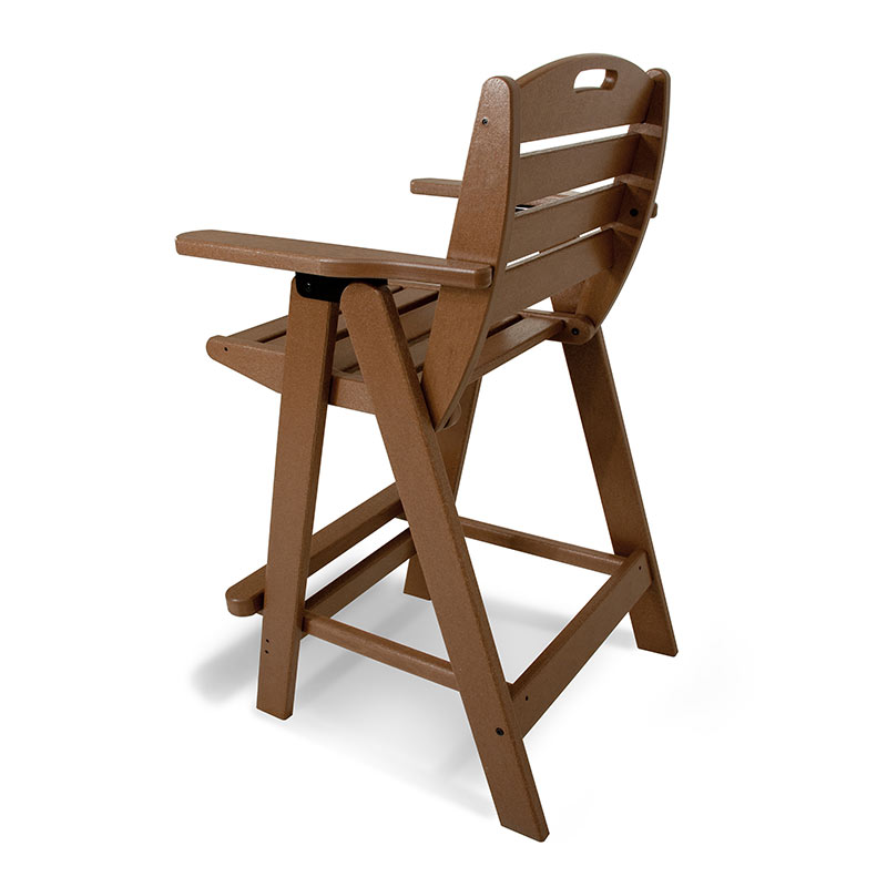 Outdoor Bar Height Chair Polywood All Weather Patio Chairs
