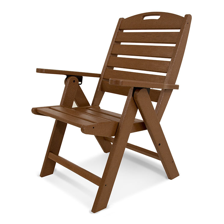 Excellent Nautical Highback Folding Dining Chair Machost Co Dining Chair Design Ideas Machostcouk