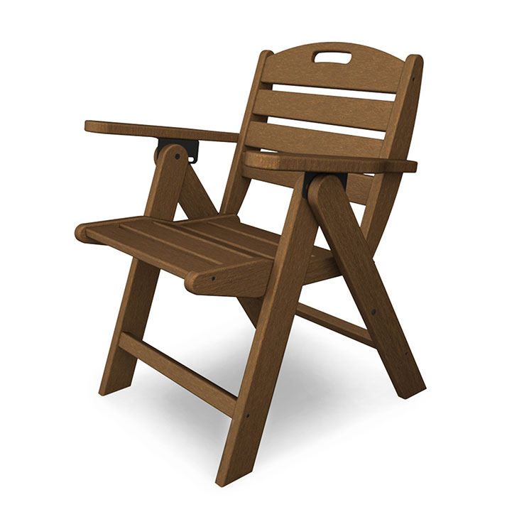 Nautical Lowback Folding Dining Chair